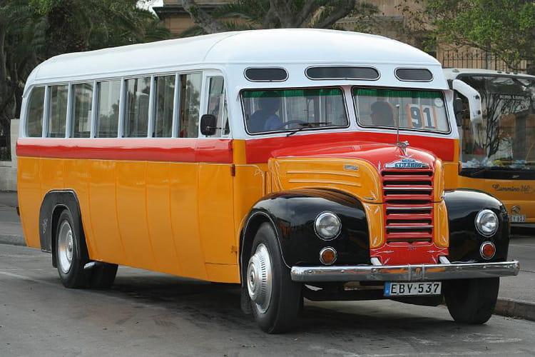 autobus à Malte
