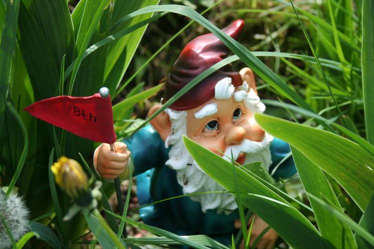 Cache cache avec un nain de jardin par lise fr re sur l for Acheter un nain de jardin