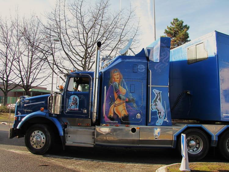 Camion am ricain kenworth par jean marc puech sur l 39 internaute - Camion benne americain ...