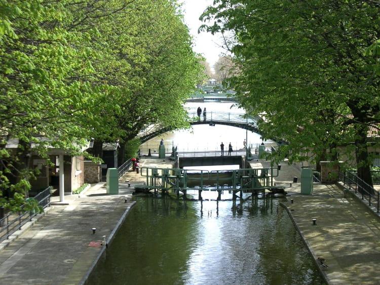 canal saint martin par philippe bonduelle sur l u0026 39 internaute