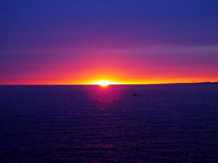 Coucher de soleil sur mer par thomas foinet sur l 39 internaute - Photos coucher de soleil ...