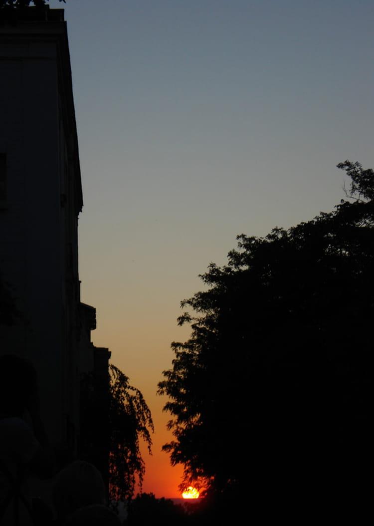 Coucher de soleil sur paris par jean claude morel sur l 39 internaute - Coucher de soleil sur paris ...