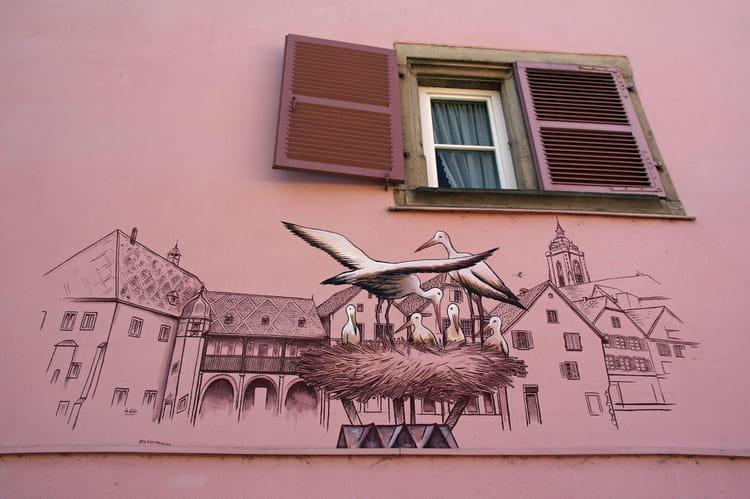 D coration murale par roger andreoletti sur l 39 internaute for Decoration murale kaysersberg