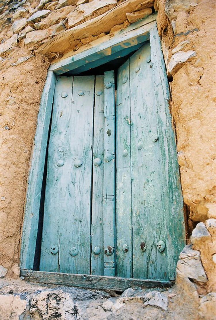 Entr e d 39 une maison de la palmeraie de misfah par eric for Entree d une maison