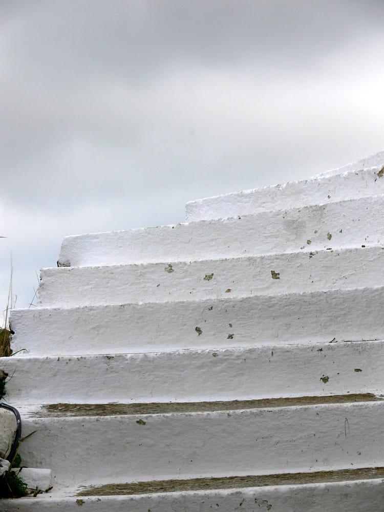 Escalier Blanc Par Fran Ois Xavier Testard Vaillant Sur L
