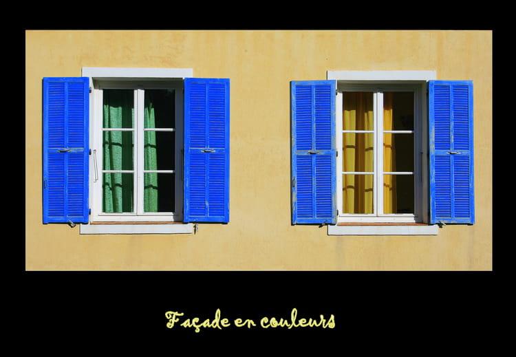 Fa ade en couleurs par ghislaine girardot sur l 39 internaute for Facade en couleur