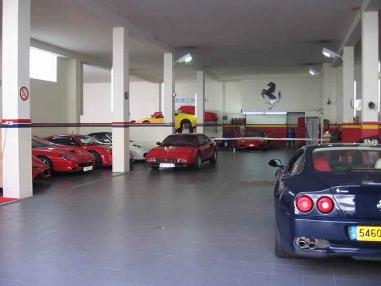 garage ferrari de monaco par baptiste riviere sur l 39 internaute