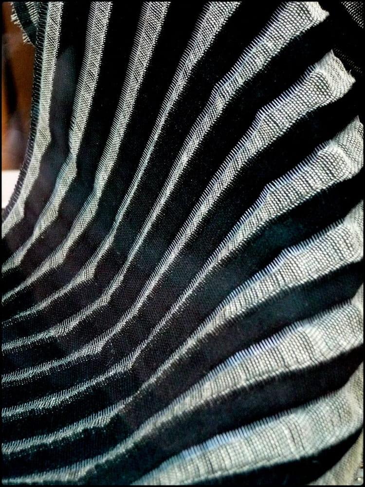 gracieux pliss d 39 un tissu z br par yvette gogue sur l. Black Bedroom Furniture Sets. Home Design Ideas