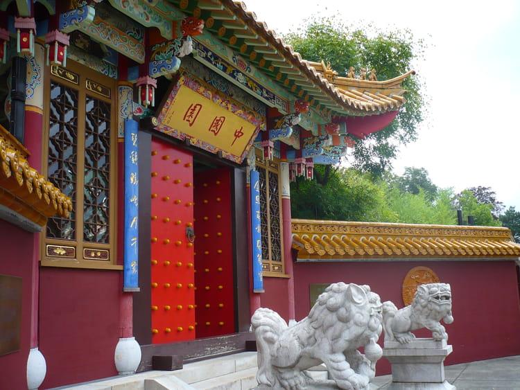 Jardin chinois de Zurich par Laetitia Harcour sur L'Internaute