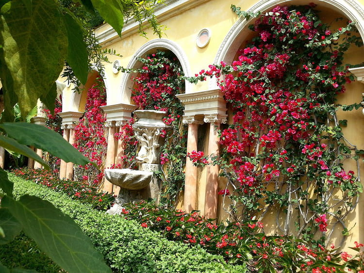 Jardin espagnol et florentin 11 par jean pierre marro for Jardin villa rothschild