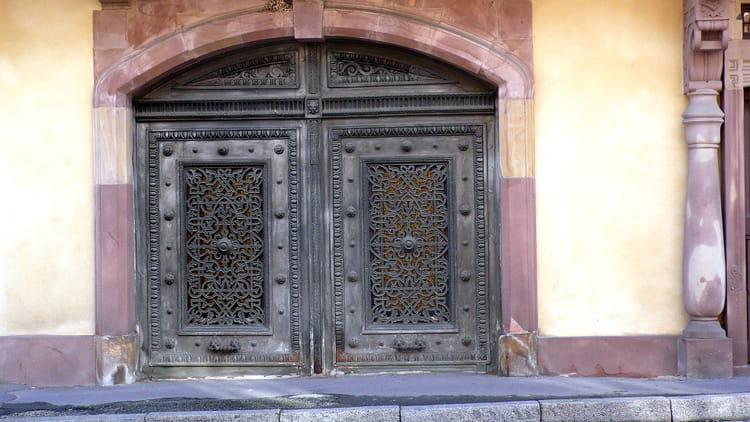 L 39 ancienne porte d 39 entr e par catherine burg sur l 39 internaute for Porte d entree maison ancienne