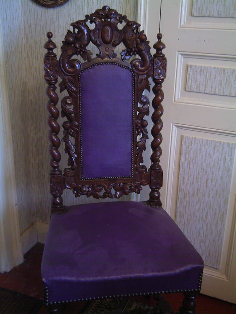 La chaise ancienne par genevieve lapoux sur l 39 internaute - Chaise escabeau ancienne ...
