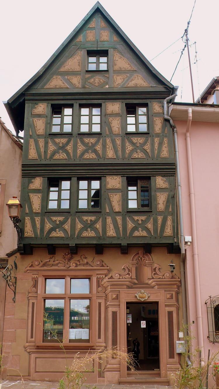 La maison alsacienne par catherine burg sur l 39 internaute - Maison prefabriquee inconvenients ...
