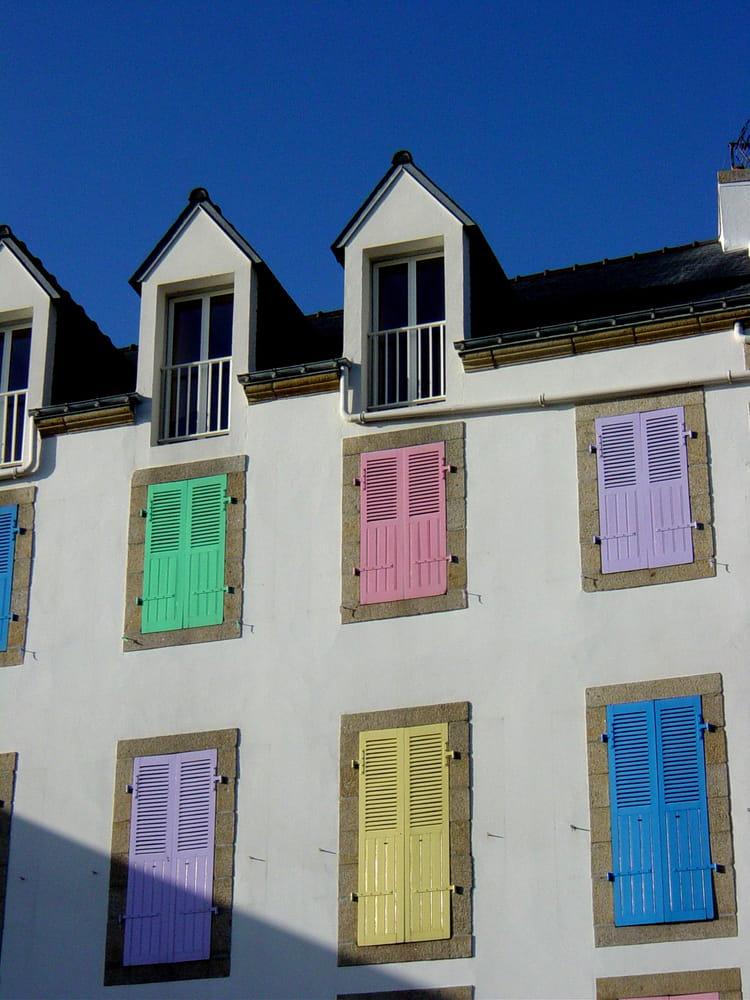 Gut bekannt La maison aux volets de toutes les couleurs par Caroline Gauvin  CA42