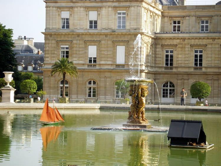 Le bassin du jardin du luxembourg par alain roy sur l for Piscine jardin du luxembourg