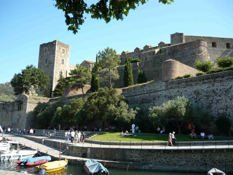 Le ch teau de collioure par william tremblet sur l 39 internaute - Chateau de collioure ...