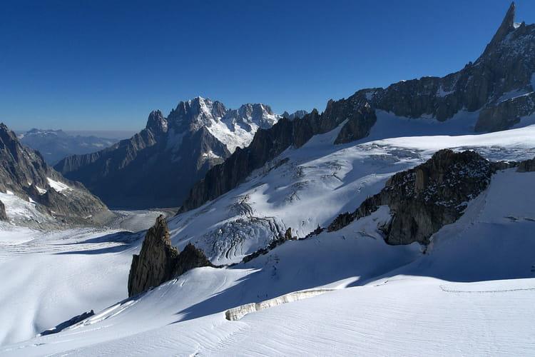 Le glacier du g ant massif du mont blanc par yann tierny - Le geant du cintre ...