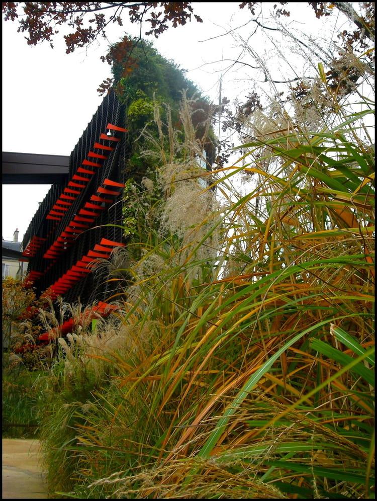 Le jardin du musée du Quai Branly s'est épanoui par Yvette ...