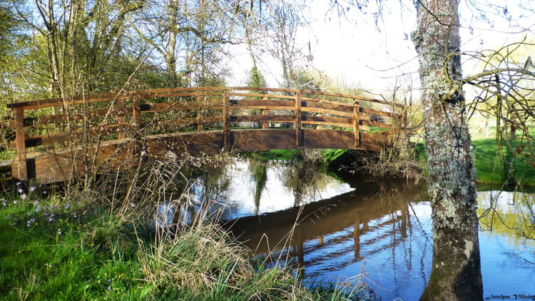 Le petit pont de bois par jocelyne villoing sur l - Petit pont en bois ...