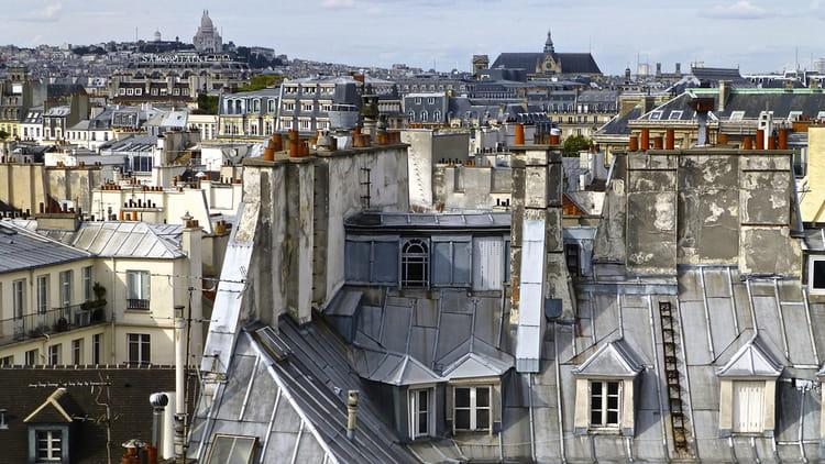 Les jolis toits de paris par babeth bonnereau sur l 39 internaute for Appartement sur les toits paris