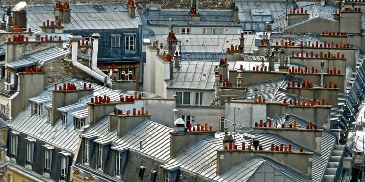 les toits de paris par babeth bonnereau sur l 39 internaute. Black Bedroom Furniture Sets. Home Design Ideas
