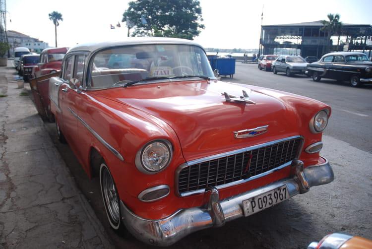 Les vieilles voiture am ricaine de la havane par genevieve for Salon vieilles voitures