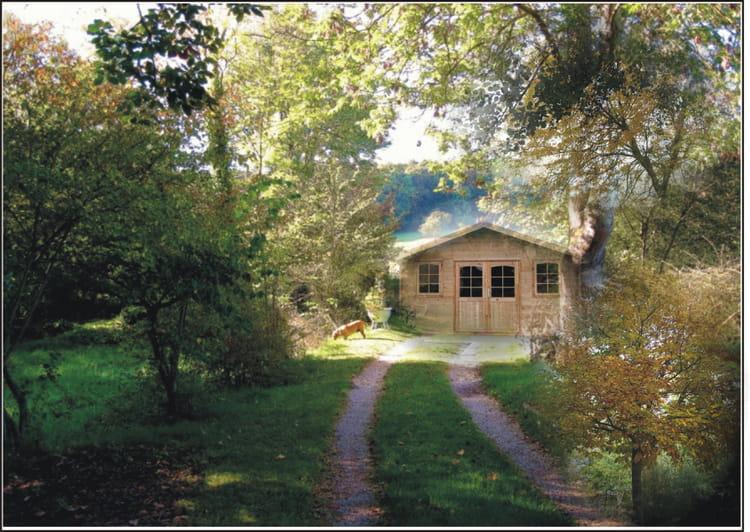 Ma cabane au fond du jardin par catherine gaignon sur l for Cabane au fond du jardin
