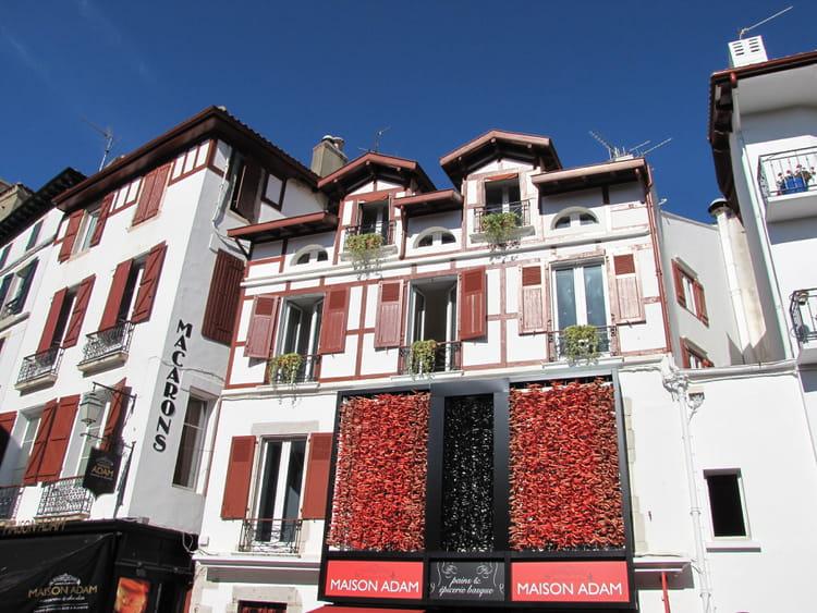 Maison basque st jean de luz par jean marc puech sur l 39 internaute for Photos maison basque