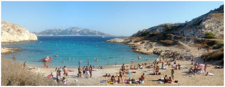 Marseille 13 le de frioul la plage par christophe - Cuisine des iles marseille ...