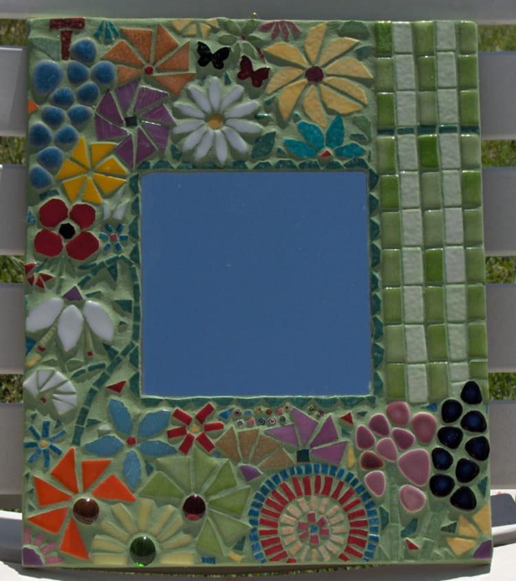 Miroir mosaique par brigitte fernandez sur l 39 internaute - Mosaique miroir autocollante ...