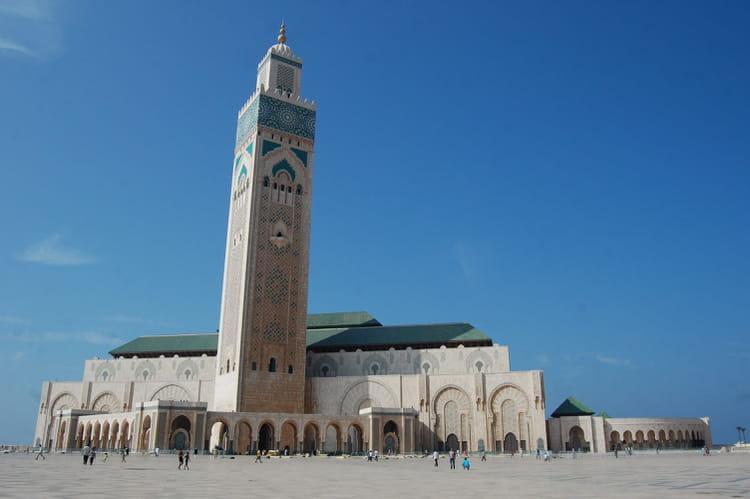 Mosqu e hassan ii par bruno gil sur l 39 internaute for Mosquee hassan 2 architecture