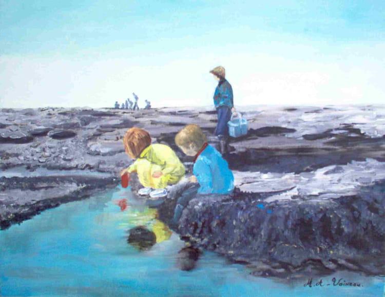 Les pierres blanches la pêche à kieve