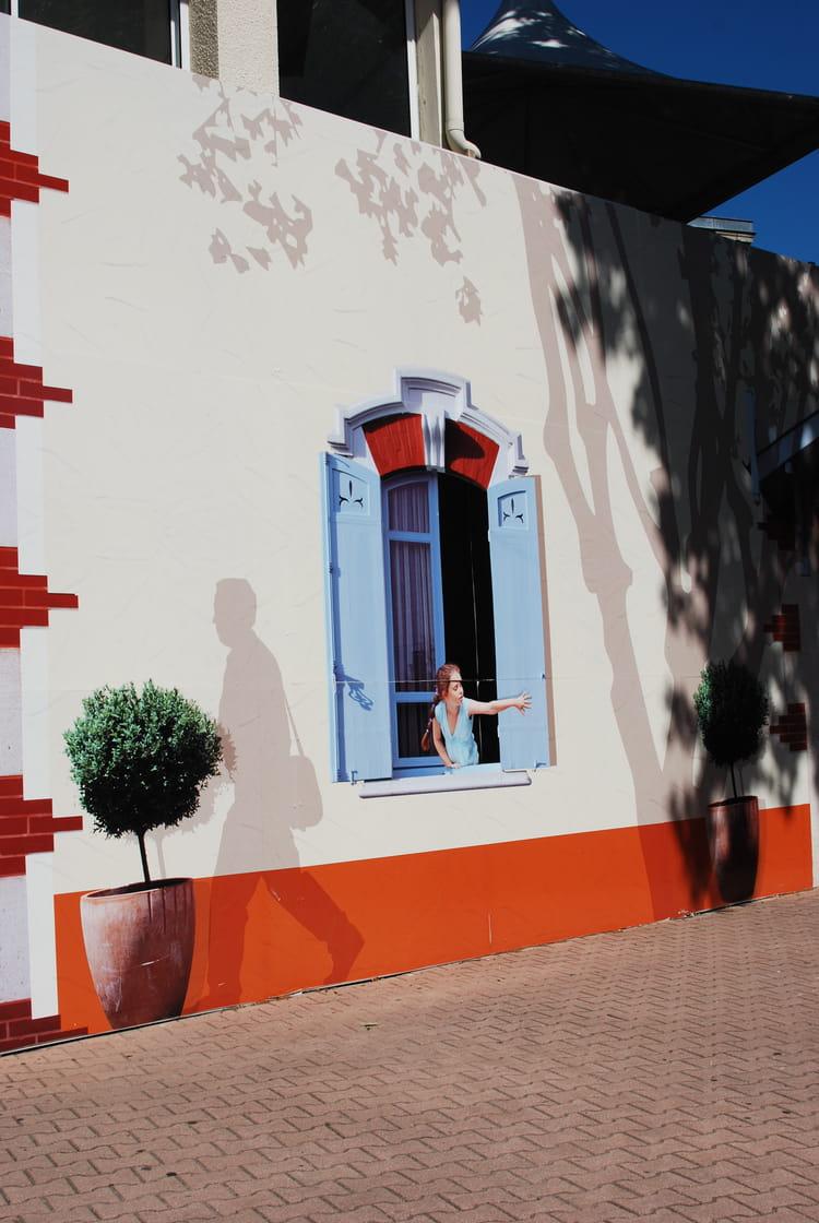 peinture en trompe l 39 oeil par genevieve lapoux sur l 39 internaute. Black Bedroom Furniture Sets. Home Design Ideas