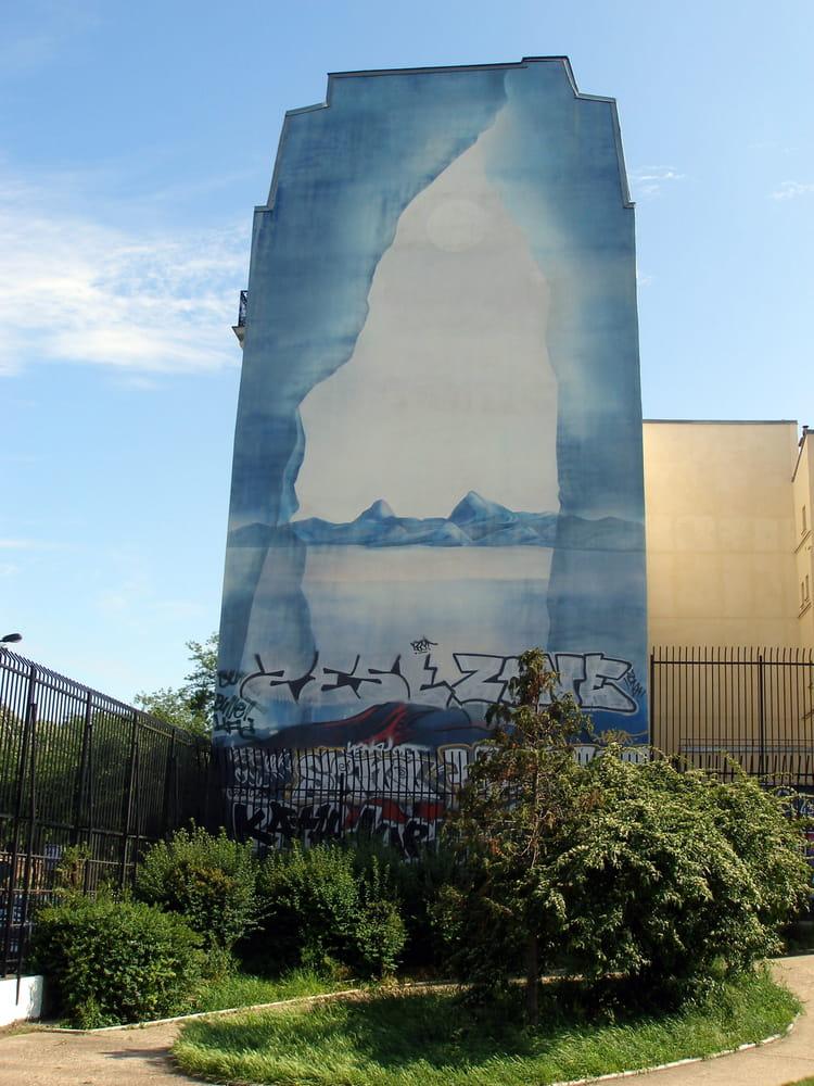Peinture murale par alain roy sur l 39 internaute for Peinture murale pailletee castorama