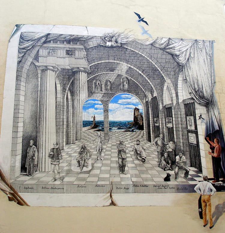 Peinture murale par alain roy sur l 39 internaute - Castorama peinture murale ...