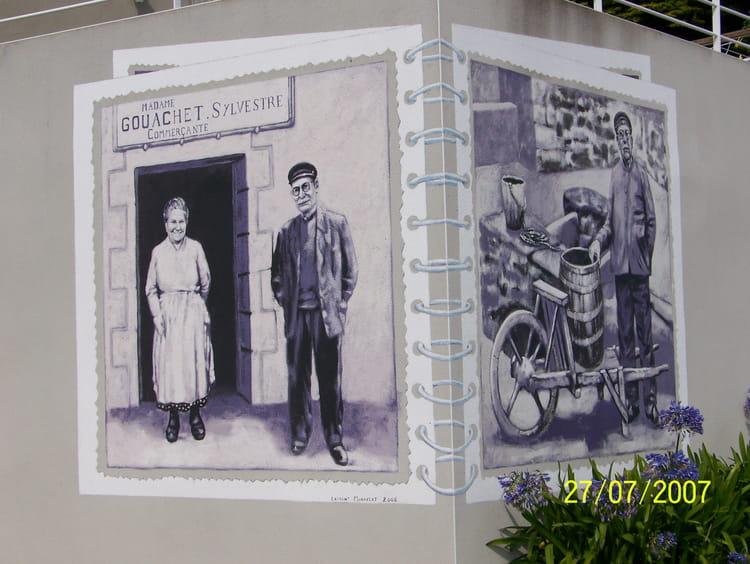 peinture trompe l 39 oeil mol ne par alain leonard sur l 39 internaute. Black Bedroom Furniture Sets. Home Design Ideas