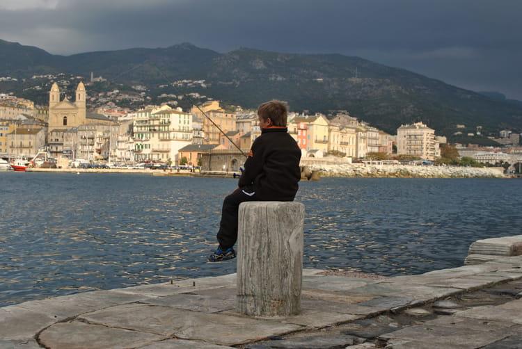 Petit p cheur vieux port bastia par charles lucchini sur l - Vieux port bastia ...