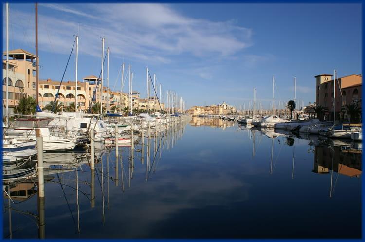 Port leucate 3 par jacqueline joly sur l 39 internaute - Bus perpignan port leucate ...