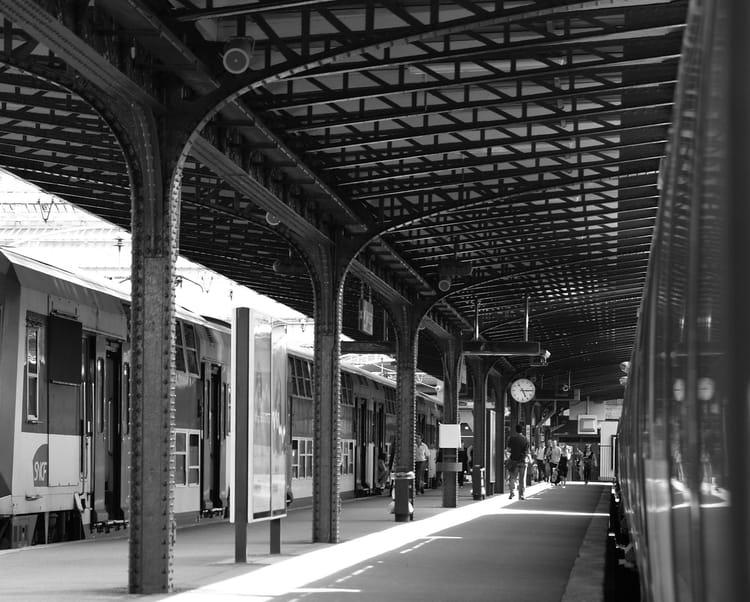 Quai gare de l est par julien heintz sur l 39 internaute for Exterieur quai gare de l est