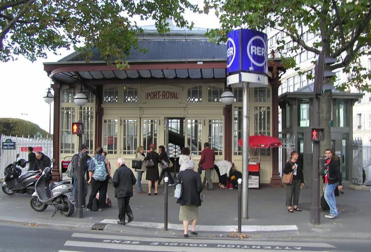 rer b station port royal par g 233 rard robert sur l internaute