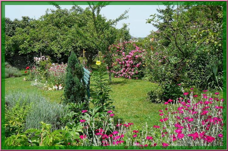 S r nit d 39 un petit jardin normand 8 par jacqueline for Le jardin normand