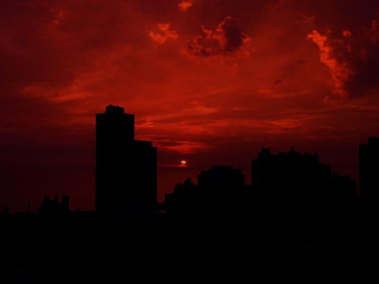 Soleil rouge par raphael rodolfi sur l 39 internaute - Soleil rouge aubagne ...