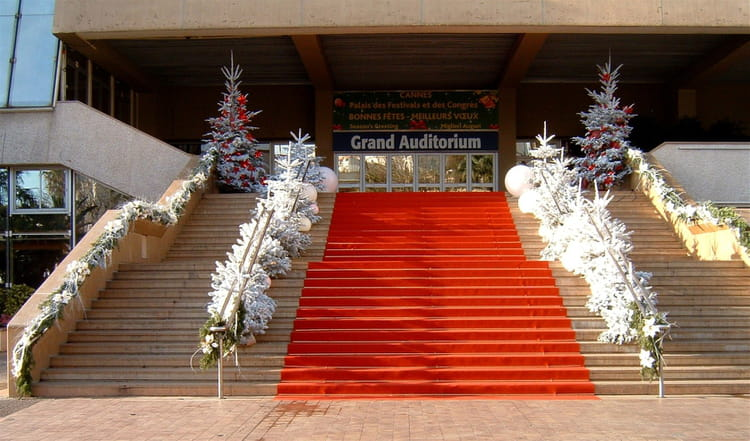 Tapis rouge et sapins blancs par jacqueline joly sur l 39 internaute - Tapis rouge et blanc ...
