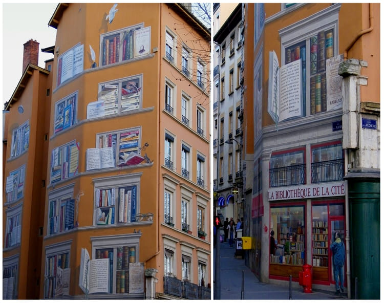 Une grande biblioth que par g raldine deveau sur l 39 internaute - Grande bibliotheque murale ...